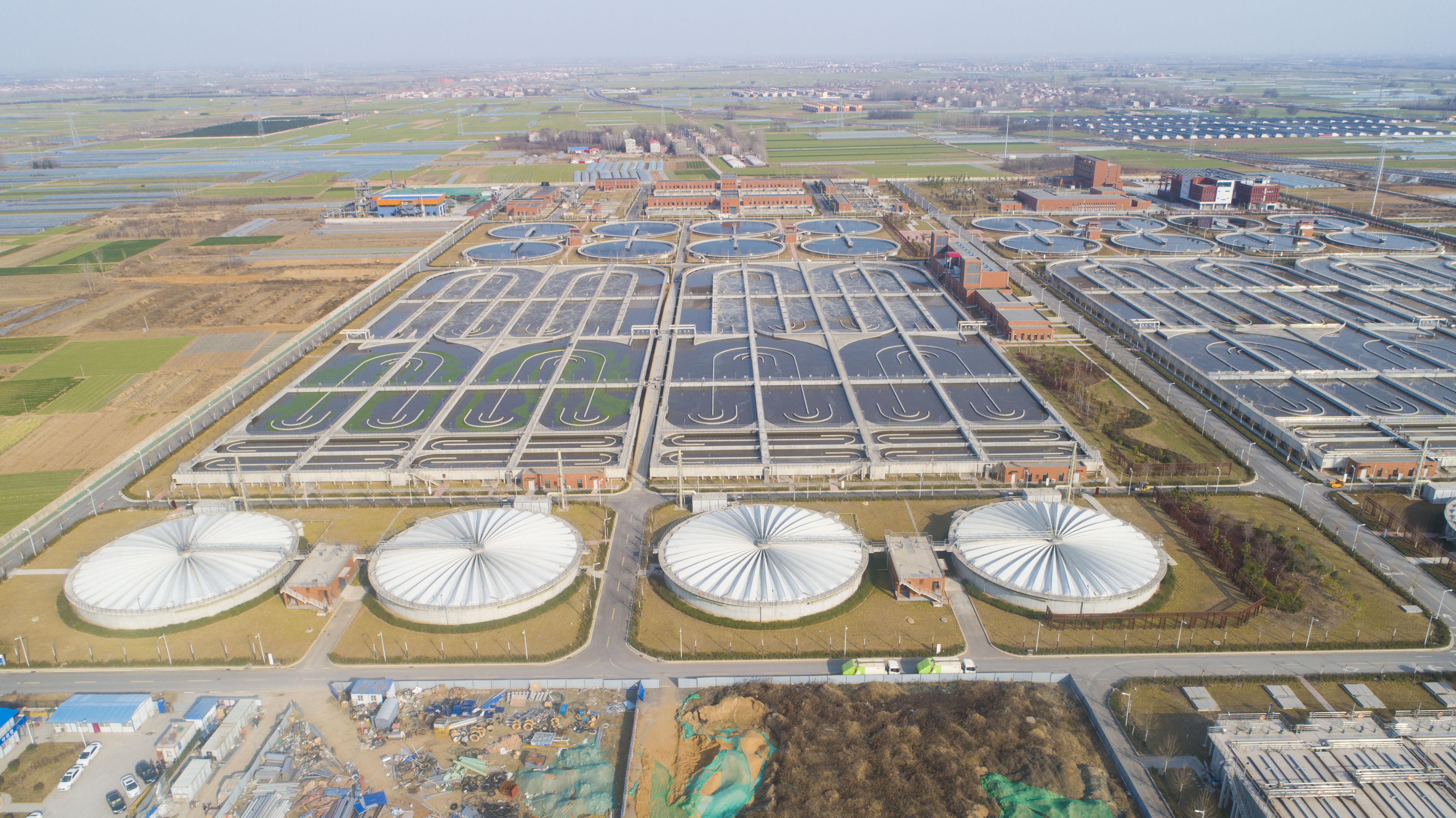 郑州新区污水处理厂工程